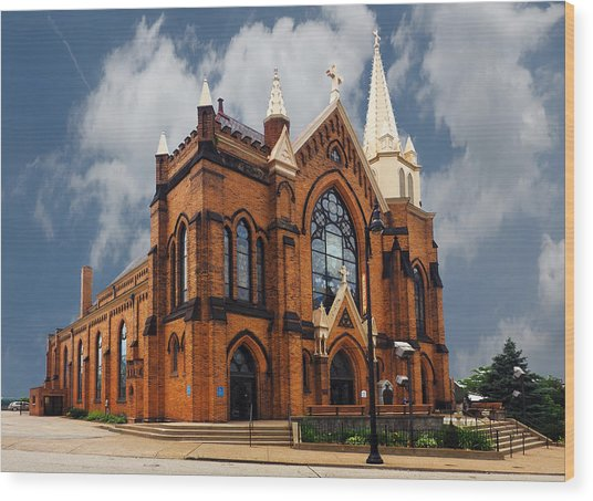 Saint Mary Of The Mount Church Wood Print