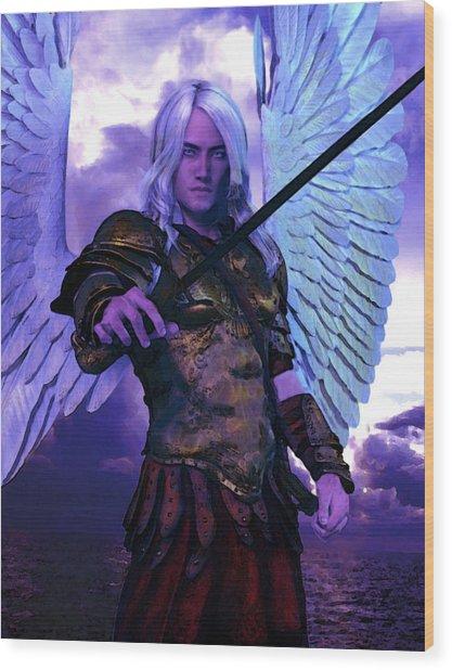 Saint Michael The Archangel/2 Wood Print