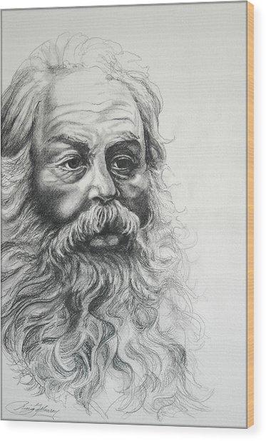 Saint Nicholas Of Compassion Wood Print by Craig Gallaway