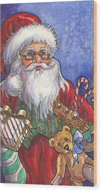 Saint Nicholas Wood Print