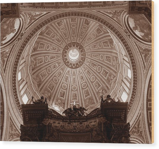 Saint Peter Dome Wood Print