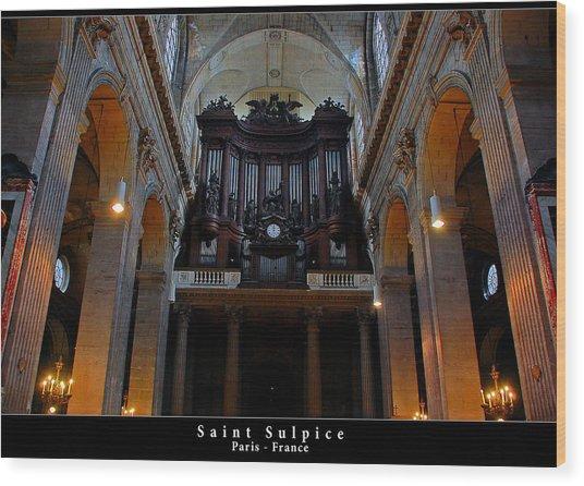 Saint Sulpice Wood Print