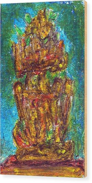 Saint Valentine's Day Wood Print by Yuri Lushnichenko