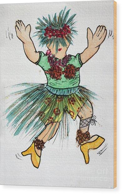 Sales Fairy Dancer 2 Wood Print