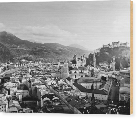 Salzburg Austria Wood Print