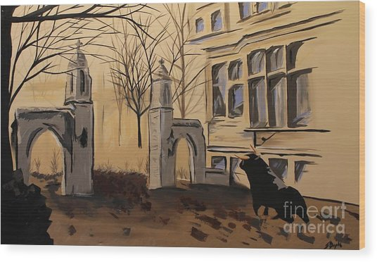 Sample Gates Wood Print