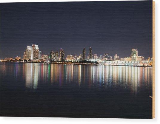 San Diego Ca Wood Print