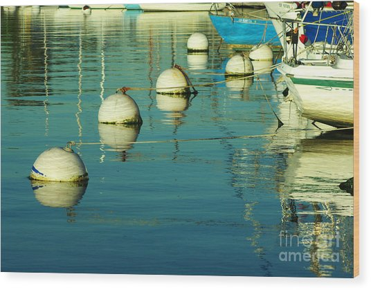 San Diego Waterfront 1.2100 Wood Print by Stephen Parker
