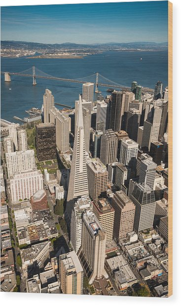 San Francisco Aloft Wood Print