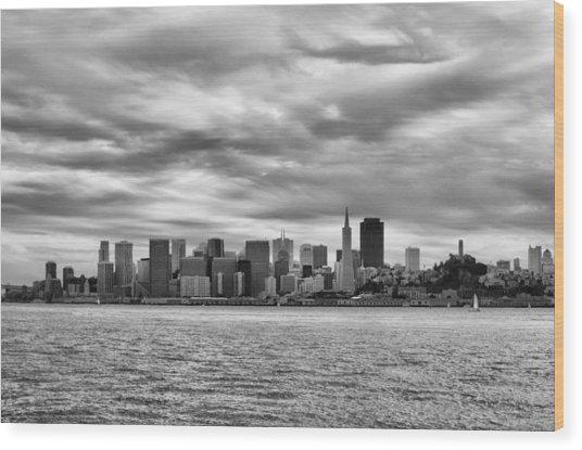 San Francisco Bay Wood Print