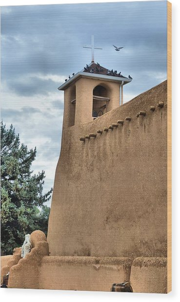 San Francisco De Asis Mission Wood Print