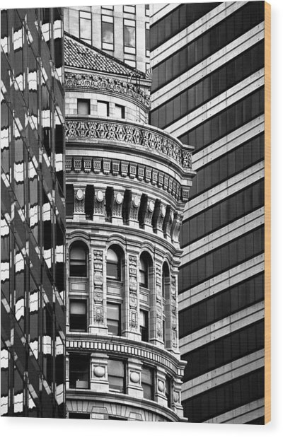 San Francisco Design Wood Print