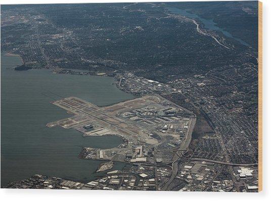 San Francisco International Airport Wood Print
