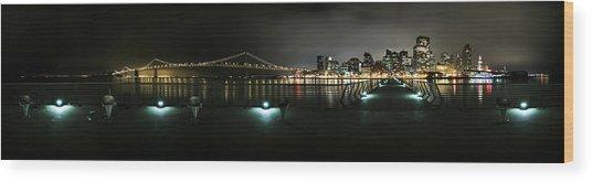 San Francisco Panorama Wood Print