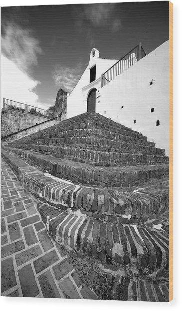 San German 4791bw Wood Print