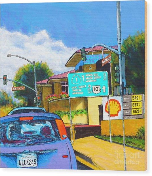 San Luis Obispo Ca Wood Print