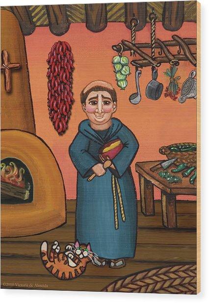 San Pascual And Vigas Wood Print