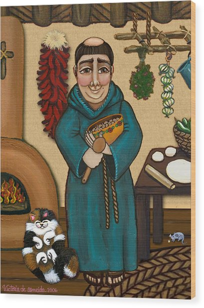San Pascual Wood Print
