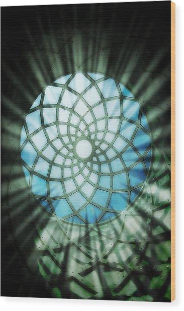 Sanctum Wood Print by Peter Waters