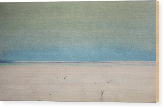 Sand Swept Wood Print
