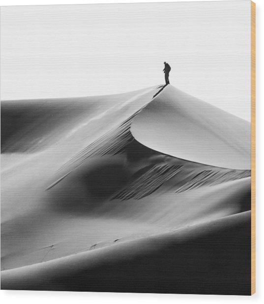 Sandman Wood Print