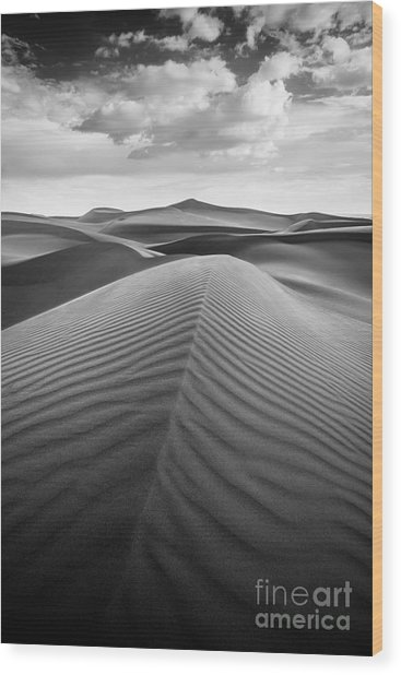Sands Of Time Wood Print