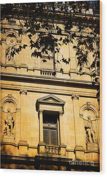 Sandstone Architecture - Characteristic Of Sydney Australia Wood Print