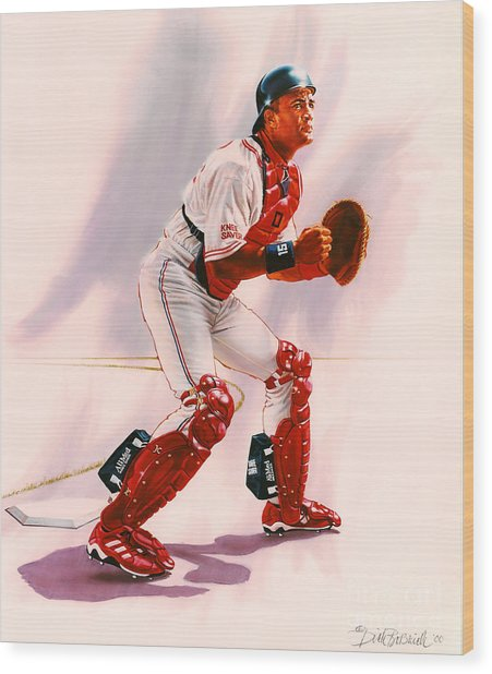 Sandy Alomar Wood Print