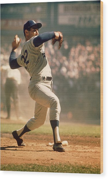 Sandy Koufax  Wood Print