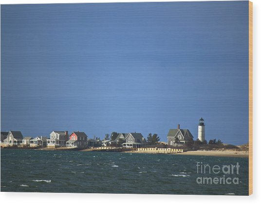 Sandy Neck Light Wood Print