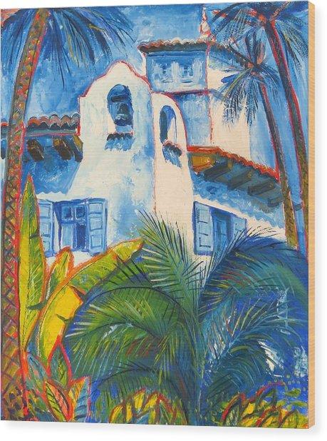 Santa Barbara Wood Print