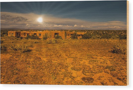 Santa Fe Landscape Wood Print