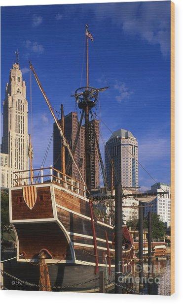 Santa Maria Replica Photo Wood Print