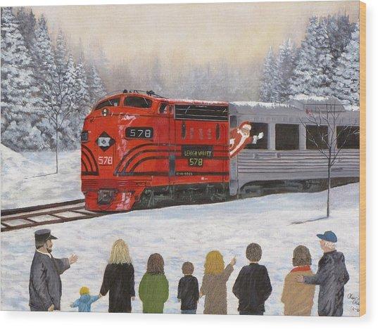 Santa's Miracles Wood Print