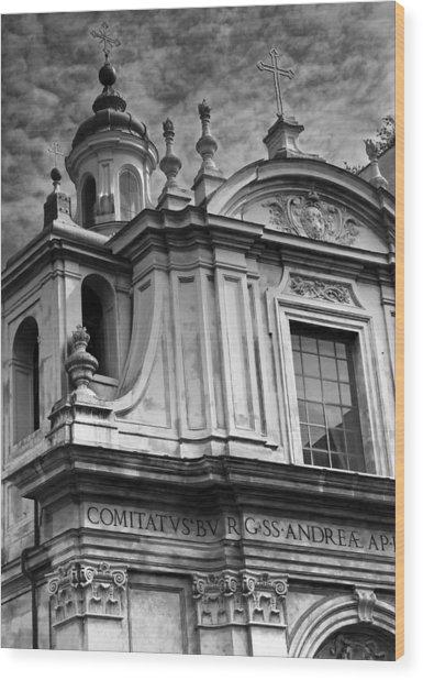Santi Andrea E Claudio Dei Borgognoni Wood Print