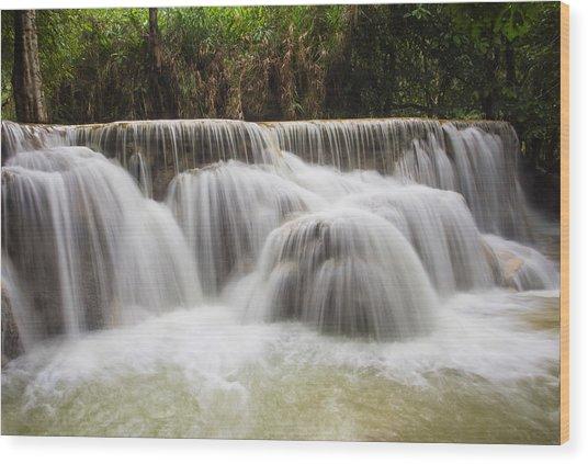 Satin Falls Wood Print