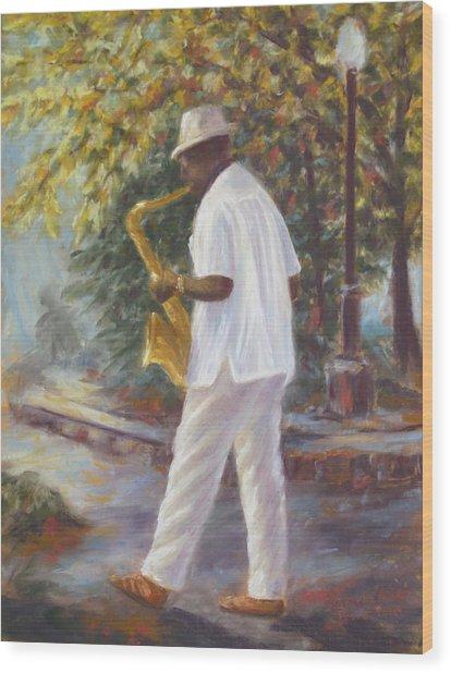 Savannah Jazz Wood Print