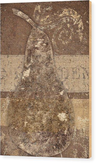 Savannah Pear Wood Print