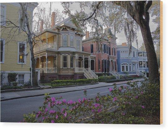 Savannah Style Wood Print by Stephen Gray
