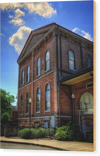 Savannah Visitor Center Wood Print