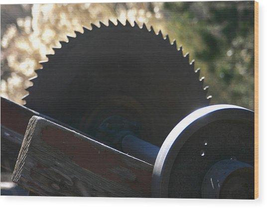 Saw Wood Print