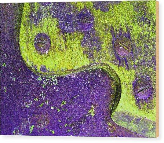 Hand Saw Q Wood Print