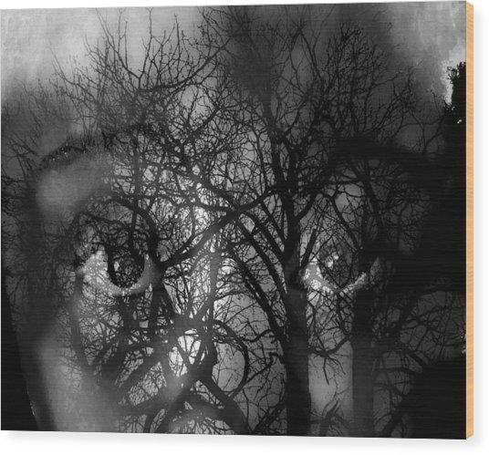 Scared Wood Print