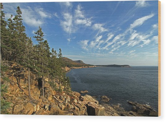 Scenic Maine Acadia Coast Photography Photograph By
