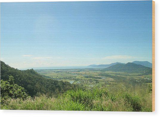 Scenic Overlook Wood Print