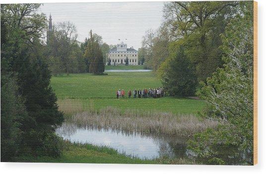 Schloss Woerlitz Wood Print by Olaf Christian
