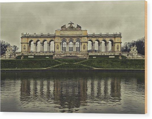 Schonbrunn Gloriette Wood Print