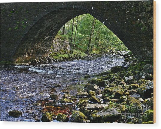 Scotland Bridge Wood Print