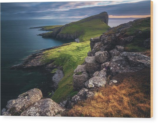 Scotland - Neist Point Wood Print