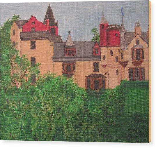 Scottish Castle Wood Print